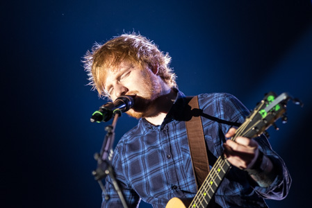 Ed Sheeran at Tipsport Arena, Prague