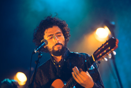 José González at Lucerna Music Bar, Prague