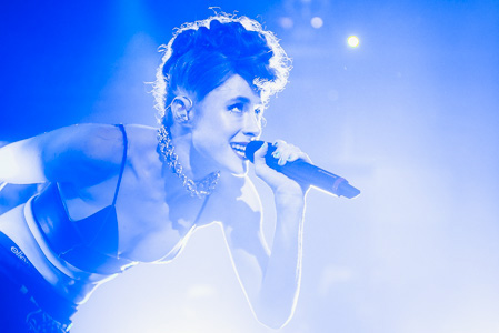 Kiesza at Lucerna Music Bar, Prague